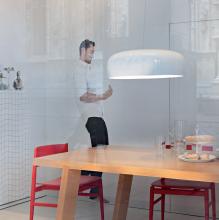 Подвесной светильник Flos Smithfield S White F1360009