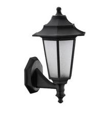 Уличный настенный светильник Horoz Begonya-1 черный 400-010-117