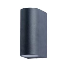 Уличный настенный светильник Arte Lamp A3102AL-2BK