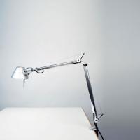Настольная лампа Artemide Tolomeo mini LED alluminio with presence detector A005500 + A004100