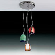 Подвесной светильник Voltolina JACARANDA Sosp. pendel acciaio TRIO