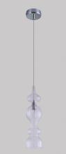Подвесной светильник Crystal Lux Iris SP1 A Transparent