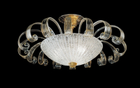 Потолочный светильник Vetri Lamp 996/70 Cristallo/Oro