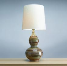 Настольная лампа Lui's Collection Gourd LUI/JADE GOURD + HQ/TD30 IVORYPC6