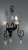 Бра Vetri Lamp 972/A1 Nero/Oro