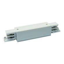 Соединитель для шинопроводов прямой внешний (09746) Uniel UBX-A12 Silver