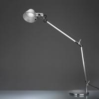 Настольный светильник Artemide Tolomeo mini tavolo LED Alluminio A008600 + A005600