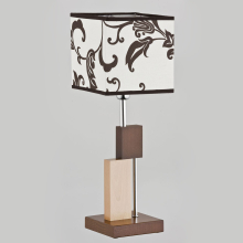 Настольная лампа Alfa Qube Brown 9414
