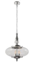 Подвесной светильник Crystal Lux Miel SP4 Chrome