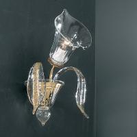 Бра Vetri Lamp 304/A Cristallo/Ambra