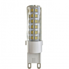 Лампа светодиодная G9 6W 4000К прозрачная VG9-K1G9cold6W 7035