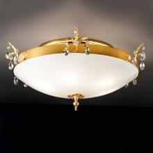 Потолочный светильник Masiero Classica Primadonna PL4 G03 Cut crystal