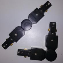 Коннектор поворотный две фазы Elvan 00000013423 Kon-R-BK-2Line