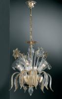 Люстра Vetri Lamp 304/4 Cristallo/Ambra