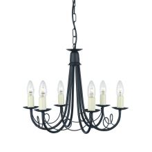 Люстра Elstead Lighting Minster MN6 BLACK