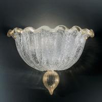 Бра Vetri Lamp 1132/A Cristallo/Oro 24 Kt.