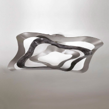 Потолочный светильник Masca Gioiello 1844/2PL Ral nero / Glass 550