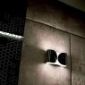 Настенный светильник Flos Foglio Shiny black F2400030