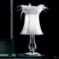 Настольная лампа Gallery Cheope CO COMODINO CROMO CRISTALLO 0000638+0000825