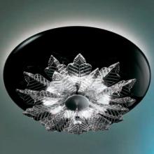 Потолочный светильник MURANOdue Gallery Orleans PL Nero Cristallo 0000389