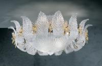 Потолочный светильник Vetri Lamp 142/PL70 Cristallo/Ambra