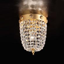 Потолочный светильник Masiero Classica Elegantia PL1 G03-G05 Half cut glass