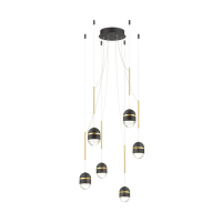 Подвесная светодиодная люстра Odeon Light Minion 4118/30L
