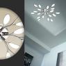 Потолочная светодиодная люстра Odeon Light Scoppa 3994/75CL
