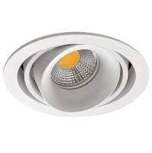 Встраиваемый светильник Donolux DL18615/01WW-R White/Black