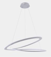 Подвесной светодиодный светильник Crystal Lux Amigo SP D750 Silver