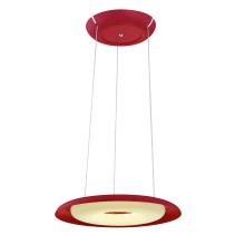 Подвесной светодиодный светильник Horoz Deluxe красный 019-012-0035