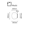 Настенно-потолочный светильник Fabbian Lumi F07 G05 01
