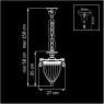 Подвесной светильник Lightstar Schon Silver 790034