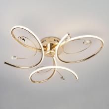 Потолочный светодиодный светильник Eurosvet Saona 90099/3 золото
