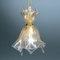 Подвесной светильник Vetri Lamp 93/S22 Cristallo/Oro