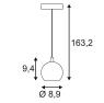 Подвесной светодиодный светильник SLV Light Eye Small 133490