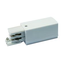 Ввод питания для шинопровода левый (09738) Uniel UBX-A02 White