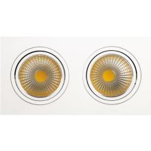Встраиваемый светодиодный светильник Horoz 2X10W 2700К белый 016-022-0020 (HL6712L)