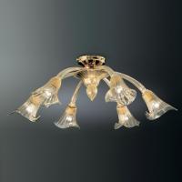 Потолочная люстра Vetri Lamp 1030/6 Oro 24Kt