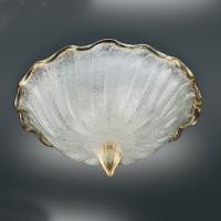 Настенно-потолочный светильник Vetri Lamp 1132/45 Cristallo/Oro 24 Kt.