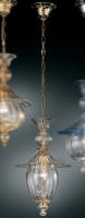 Подвесной светильник Vetri Lamp 1032/28 Cristallo/Ambra