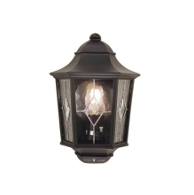 Уличный настенный светильник Elstead Lighting Norfolk NR7/2 BLK