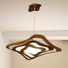 Подвесной светильник Masca Gioiello 1844/1S Bronzo cannella / Glass 550-552