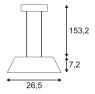 Подвесной светодиодный светильник SLV Wave PD 147833