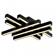 Потолочный светодиодный светильник Horoz Trend 019-009-0076 Black
