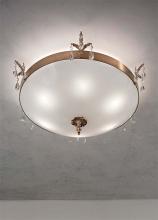 Потолочный светильник Masiero Classica Primadonna PL3 G01 Swarovski elements