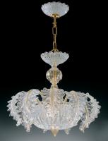 Люстра Vetri Lamp 1010/45 Cristallo/Oro