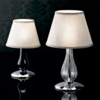 Настольная лампа Gallery Cheope CO COMODINO CROMO NERO 0207235013801