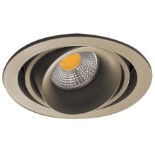Встраиваемый светильник Donolux DL18615/01WW-R Champagne/Black