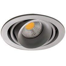 Встраиваемый светильник Donolux DL18615/01WW-R Silver Grey/Black